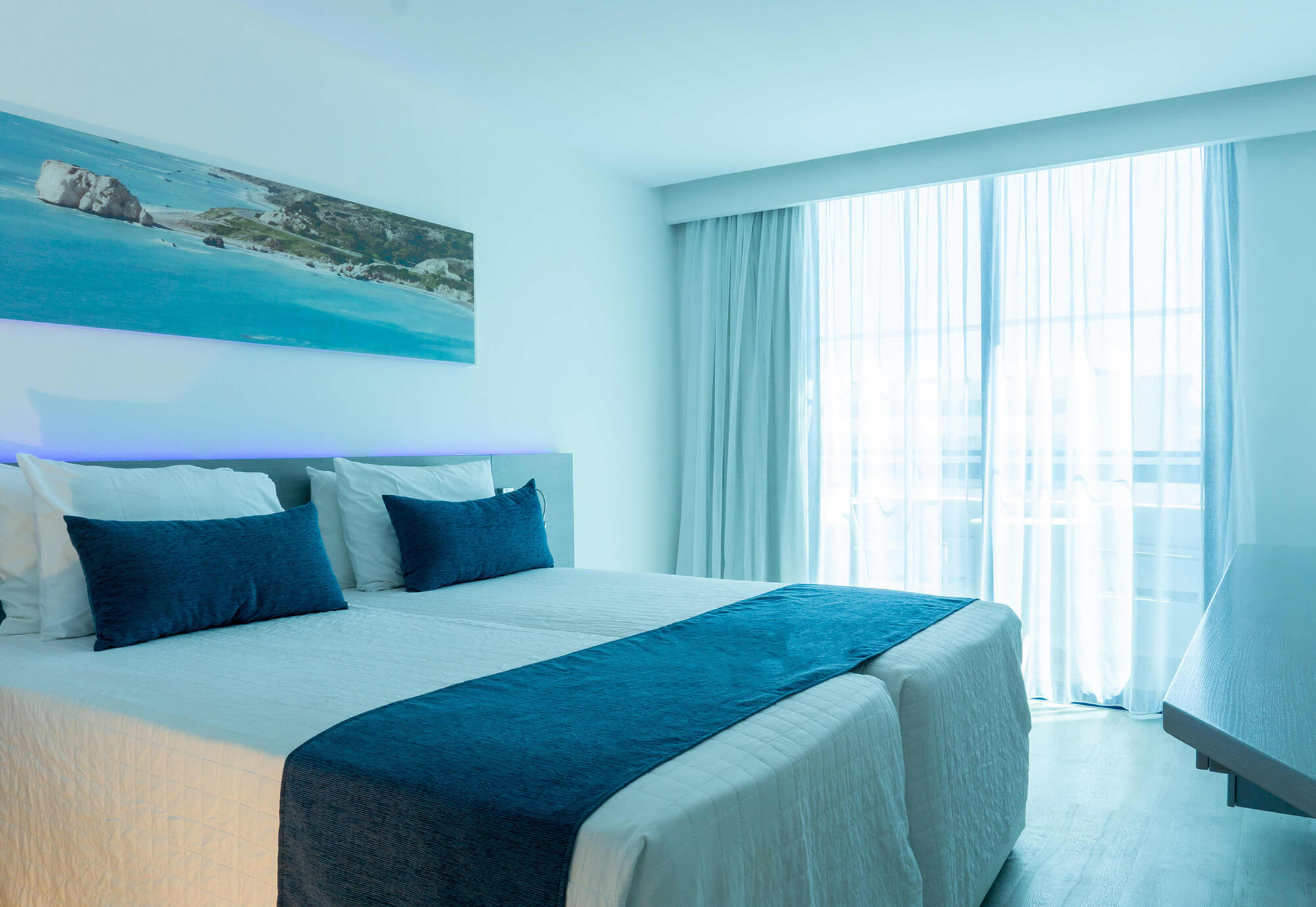 Superior Side Sea View Room at Anonymous Beach Hotel in Ayia Napa (1)